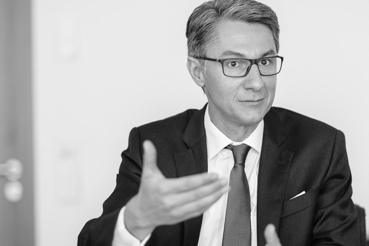 Roland Matt, Group CEO of the Liechtensteinische Landesbank (LLB)