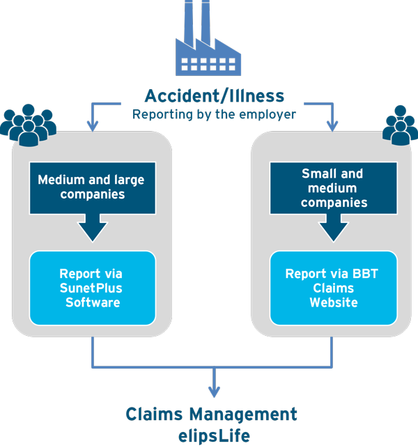 Claims reports insurance elipsLife